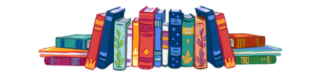 illustration of a group of books